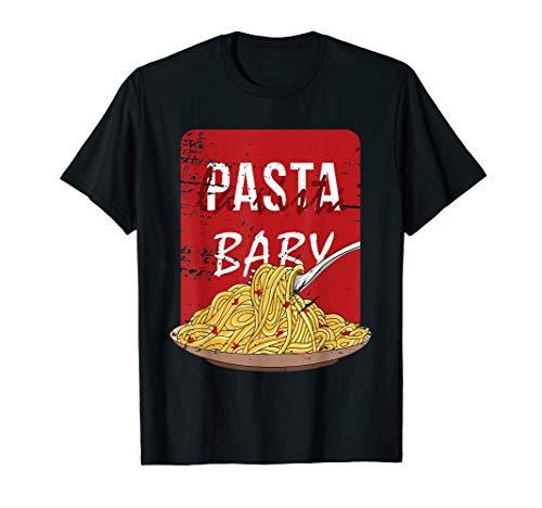 Pasta La Vista Baby Lustiges Spaghetti Teller T-Shirt