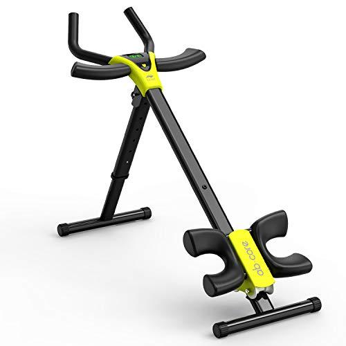 leikefitness Height Adjustable Ab Trainer Abdominal Whole Body Workout Machine Waist Cruncher...