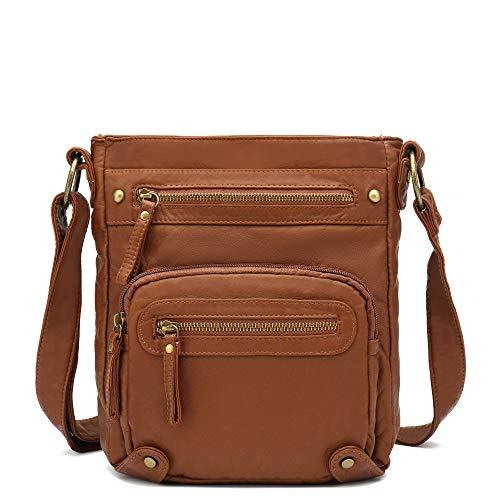 Scarleton Small Crossbody Bag for Women, Purses for Women, Handbag for Women, Shoulder bags for Women, H169304 - Brown