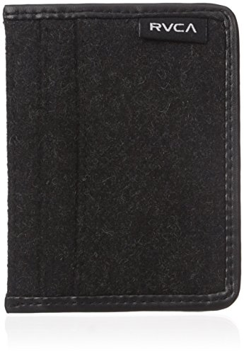 RVCA Men's Millux Wallet, Charcoal, One Size
