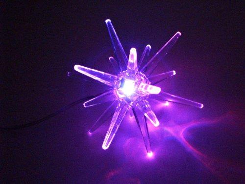 H&B LED Leuchtstern Stern mit Farbwechsel | Batteriebetrieben