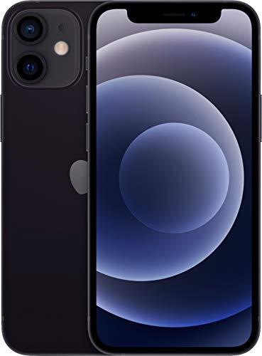 Apple iPhone 12 Mini, 128GB, Black - Fully Unlocked (Renewed)