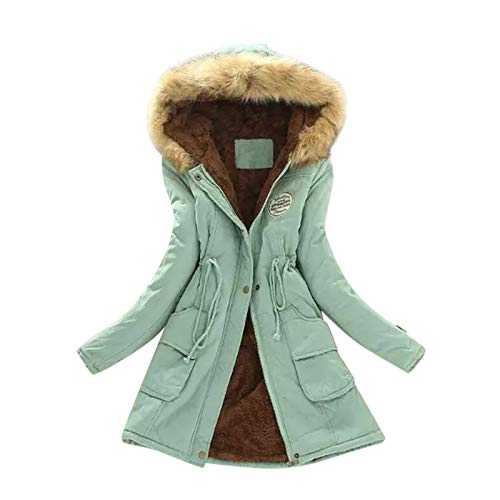 Women's Winter Coat Elegant Notched Lapel Double Breasted Trench Coat