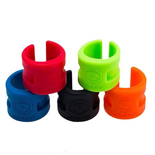 Frondent Fahrrad-Kettenstrebenschutz, faltbar, für Mountainbike, Rennrad, 5 Stück
