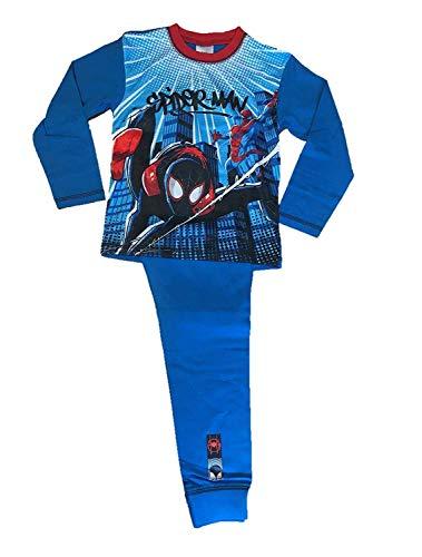TDP Kinder Jungen Spider-Man Spider-Verse Offiziell Pyjama-Set - Spider-Verse, 122-128