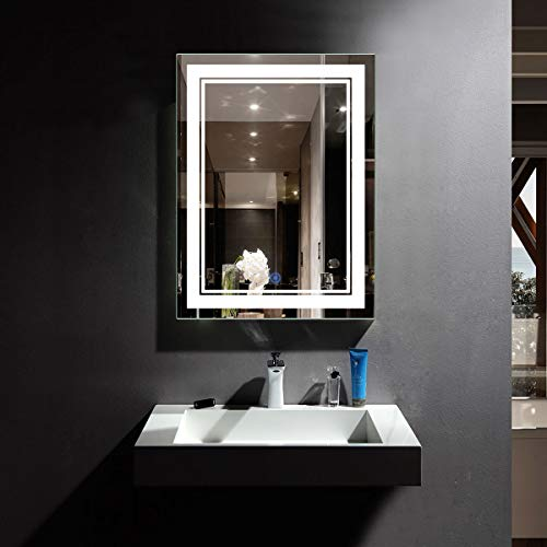 Choosing The Best LED Vanity Mirror: Four Products To Look At In 2018:Vertical LED Lighted Vanity
