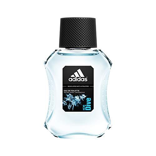 adidas Ice Dive Eau de Toilette – Erfrischendes Herren Parfüm mit holzig-aromatischem Duft für eine positive Ausstrahlung – 1 x 50 ml