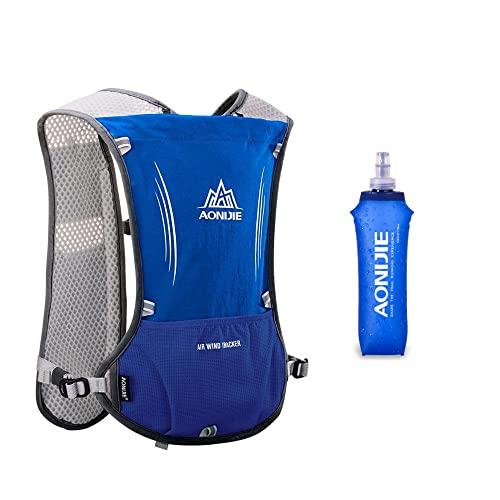 Win.Deeper Ultraleicht Trinkrucksack Trail Run Rucksack Trinkweste, Hydration Pack Fahrradrucksack für Laufen, Camping, Wandern, Joggen, Marathoner mit 1.5L Trinkblase...