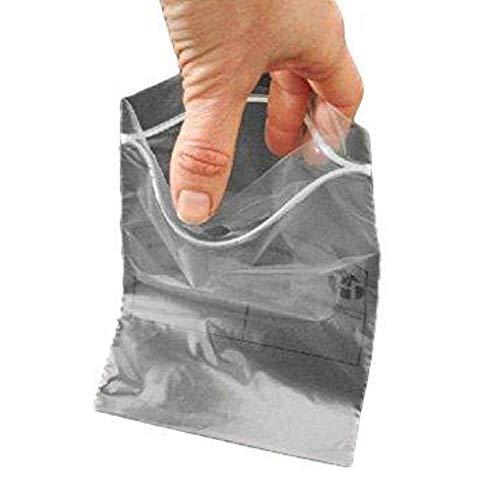 100 zip Beutel 220 x 280 mm Taschen Schließ Reißverschluss 22 x 28 cm Druck ECE-Norm konform alimentairet Gefrieren