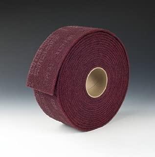 3M Scotch-Brite LD-RL Aluminum Oxide Deburring Roll - Very Fine Grade - 4 in Width x 30 ft Length - 00272 [PRICE is per ROLL]