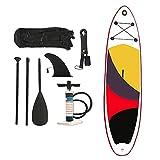 CDPC Stand Up Paddle Board 320 & Times; 76 & Times; 15Cm con Paleta con Paleta Ajustable, Aleta, Correa, Bomba de Mano, Kit de Transporte y reparación