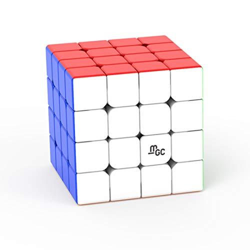 Teakpeak Zauberwürfel 4x4, YJ MGC 4x4 Magic Cube 4x4 Zauberwürfel Speedcube Stickerless