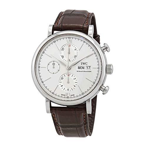 IWC Portofino Chronograph Edition 150 Years Automatic White Dial Men's Watch IW391027