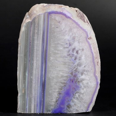 Achat Teelicht 1.030 kg., Teelichthalter blau-violett