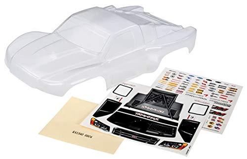 Traxxas 6811R - Slash 4x4 Clear Body, Heavy Duty & Decals