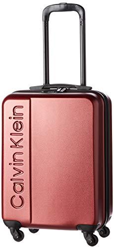 Calvin Klein Manhattan 4.0 Hardside Spinner Luggage with TSA Lock, Deep Red, 20 Inch