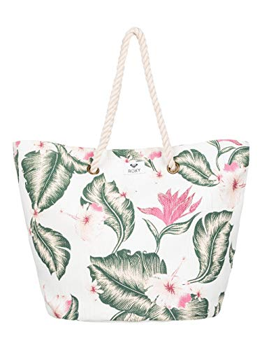 Roxy Damen Sunseeker Tote, Marshmallow Tropical Love, 1SZ