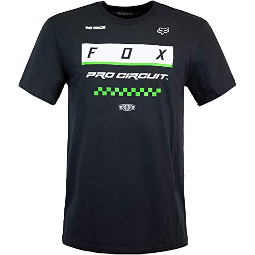 Fox Pro Circuit Block - Camiseta infantil (134), color negro