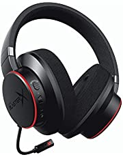 CREATIVE Sound BlasterX H6 USB-gaming-headset, virtueel 7.1-surround geluid, hardware-EQ-modi, omgevingsmonitoring, compatibel met PS4, Xbox One, Nintendo Switch en PC