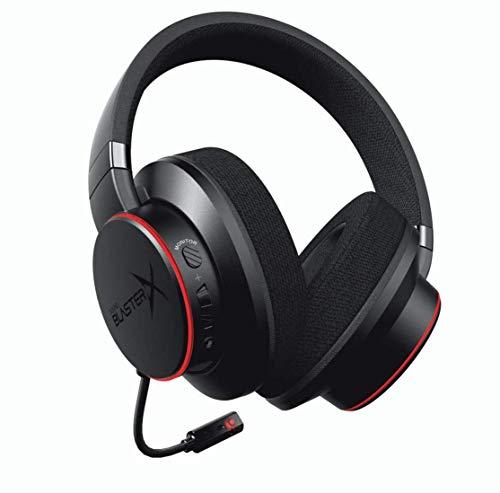 Sound BlasterX H6 - Casque de jeu 7.1 USB pour PS4, Xbox One, Nintendo Switch et PC (Noir)
