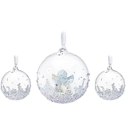 Swarovski Annual Edition 2015 Christmas Ball Ornament Set
