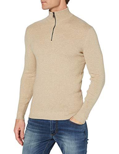 ESPRIT Herren 100EE2I303 Pullover, 294/LIGHT BEIGE 5, XL