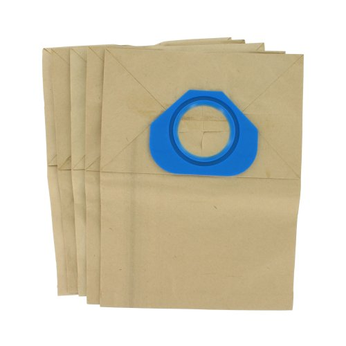 Europart VB387 Lot de 5 sacs en papier pour aspirateurs Nilfisk Série GS80