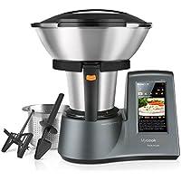 Taurus Mycook Touch Robot de Cocina, wifi, 1600 W, 2 L, hasta 140 grados, multifunción, más de 8000 recetas, Vaporera 2 niveles y cestillo de inox