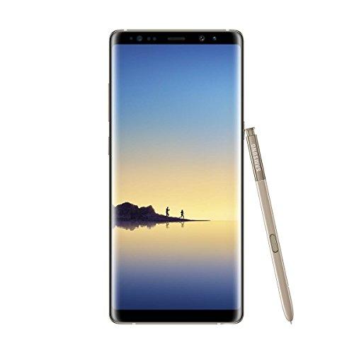 Samsung Note 8 Smartphone (16.05 cm (6,3 Zoll) Dual Edge Bildschirm, 64 GB Speicher)