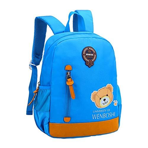 Cartoon kinderrugzak schattige tassen voor jongens kleuterschool baby kinderen meisjes schooltassen baby meisjes schoolrugzakken, hemelsblauw (blauw) - WZNB-9124578692
