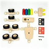 rewoodo Helden Aus Holz Transformer Erweiterungsset Holzspielzeug ab 3 Jahren Made in Germany -