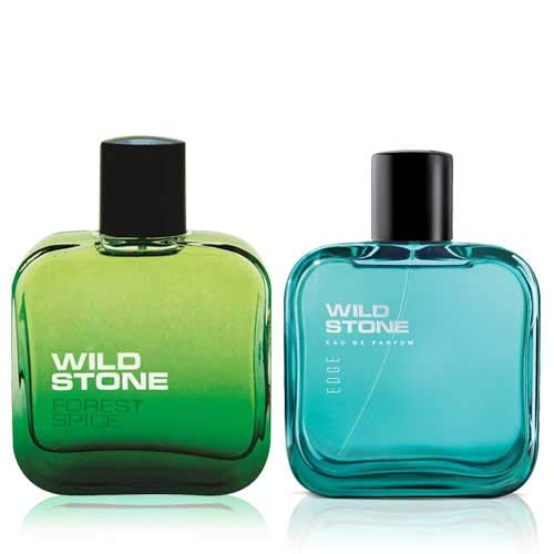 Wild Stone Edge and Forest Spice Perfume for men,50 ml each(Pack of 2)
