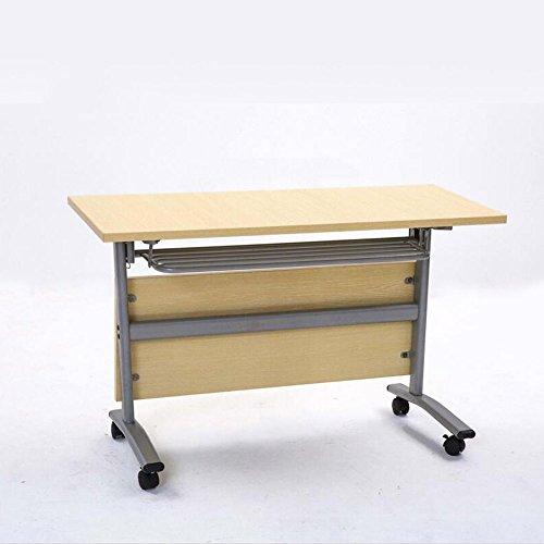 Kapige Vouwtafel Moderne Minimalistische Intrekbare Tafel Staal Hout