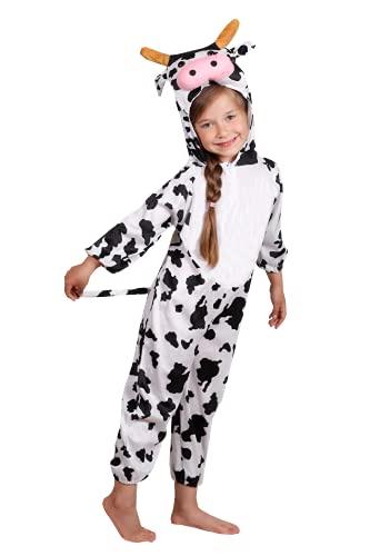 Niños Disfraces de Animales Niños Niñas Unisex Disfraces Cosplay Niños Onesie (Vaca, M (para...