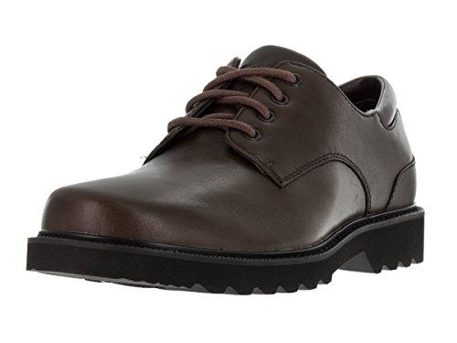 Rockport Northfield Leather Chaussures Basses pour Homme, Marron, 43.5 EU