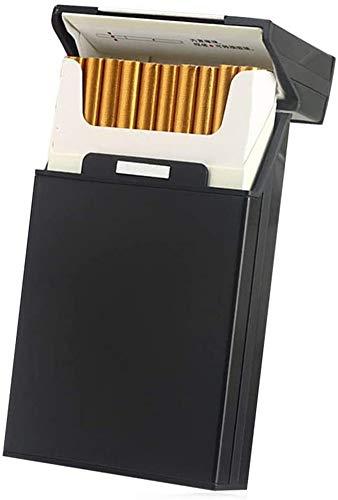 Tenfel タバコケース 100mm スリム タバコ 20本収納 アルミ シガレットケース 軽量 葉巻保護カバー 夏場 汗 対策