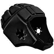EliteTek Soft Padded Headgear - 7v7 Soft Shell - Rugby - Flag Football Helmet - Soccer Goalie & Epilepsy Head Fall Protection - Youth & Adult Sizing