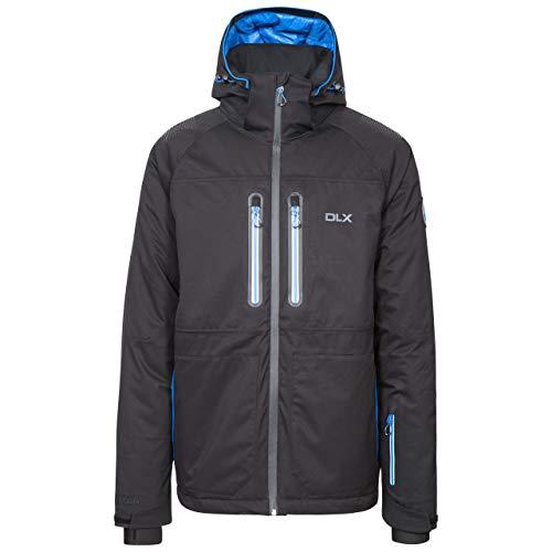 Trespass MAJKSKN20001_BLKXXL Veste de Ski Homme, Noir, FR : 2XL (Taille Fabricant : XXL)