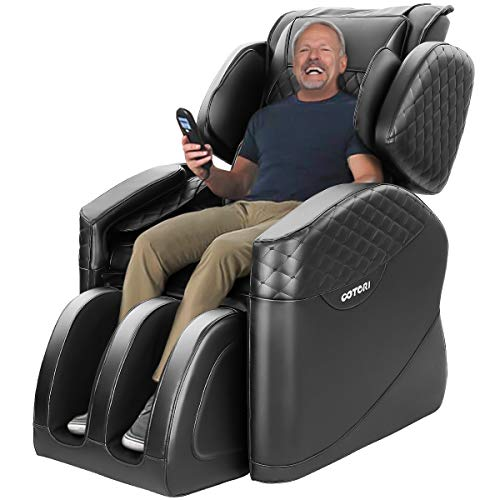 KASPURO 2020 New Massage Chair, Massage Chairs Full Body and Recliner, Zero Gravity Massage Chair, Airbags Shiatsu Massage Chair Recliner with Lower Back Heating and Foot Roller