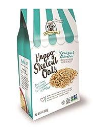 Gluten Free Happiness! Happy Steel Cut Oats Non GMO Dairy Free Certified Gluten Free Whole Grain Oats