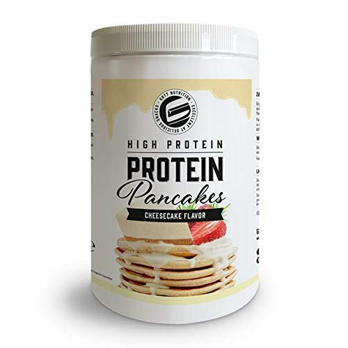 Got7 High Protein Pancake Mix schnell zubereitet Eiweiß Pfannkuchen Mix Low Fat High Protein Frühstück Pulver - 500g (Cheesecake - Käsekuchen)