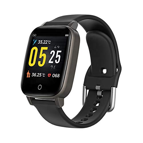 T1 Active Sports Watch (Multiple Activity Settings, Heart Rate Monitor, Temperature Monitor & IP67 Waterproof)