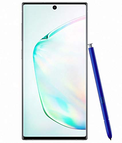 Samsung Galaxy Note 10 SM-N970F/DS 256GB 8GB RAM (Factory Unlocked) 6.3' (GSM ONLY, No CDMA) - International Version (Aura Glow)