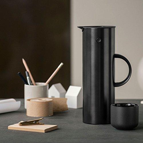 Stelton Thermoskanne, schwarz, Standard