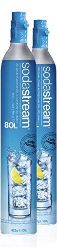 SodaStream Zylinder 60l Duo-Pack für Wassersprudler