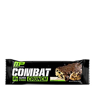 Muscle Pharm Combat Crunch Supplement, 12 count - 41dMZy9BWzL. SS315