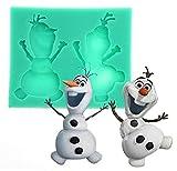 Inception Pro Infinite - Olaf Silikonform - Cartoon - Seife - Gips - Weihnachts - Harz - und...
