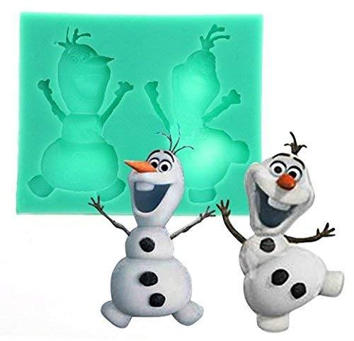 Inception Pro Infinite - Olaf Silikonform - Cartoon - Seife - Gips - Weihnachts - Harz - und Geburtstagsgeschenkidee - Silikonformen - Bastelform