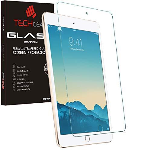 TECHGEAR Screen Protector for New iPad Mini 5 (2019), iPad Mini 4 - GLASS Edition Genuine Tempered Glass Screen Protector Guard Cover Compatible with Apple iPad Mini 5th and 4th Generation