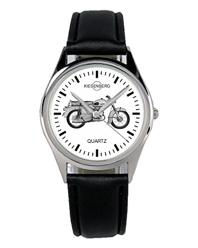 Geschenk für Zündapp KS50 Motorrad Biker Fans Fahrer Kiesenberg Uhr B-2384